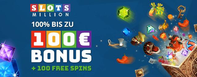 SlotsMillion Casino Bonus