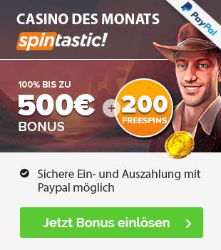 Spintastic Casino Empfehlung