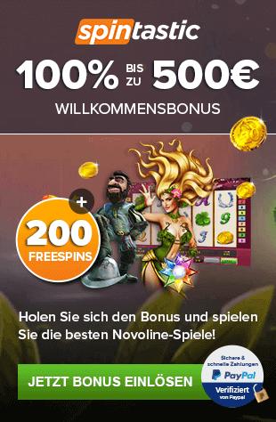 Novoline Casino - 500€ Gratis Guthaben