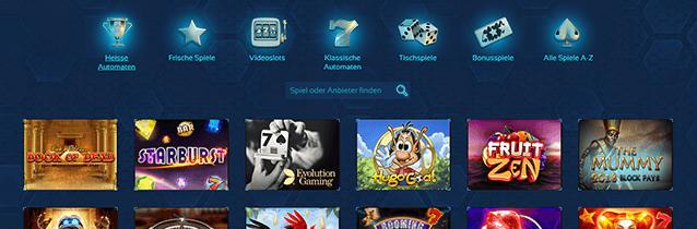 Spintropolis Casino Spiele
