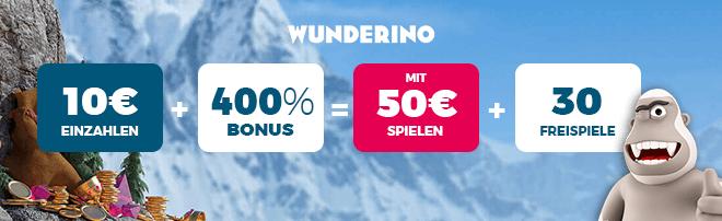 Starburst Wunderino Casino