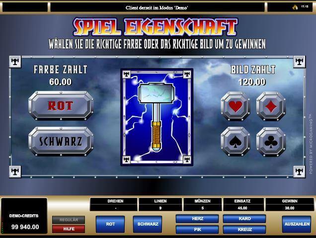 Bonuslevel beim Thunderstruck-Slot für eingefleischte Zocker