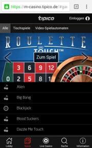 tipico casino app android