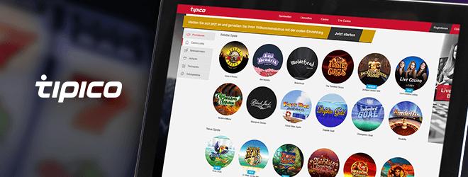 Tipico Casino Spiele Angebot