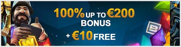 Videoslots Casino Bonus: Lukrativer 210 Euro Bonus + 11 Freispiele für Einsteiger