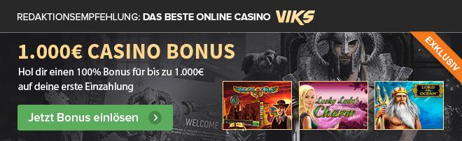 Redaktionsempfehlung Bestes Casino