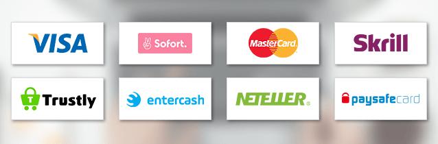 Wetten.com Casino Zahlungsmethoden