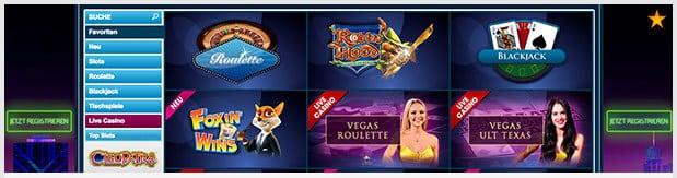 William Hill Vegas Erfahrungen: Casino-Spiele in Top-Qualität